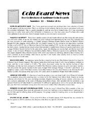 Coin Board News no. 33