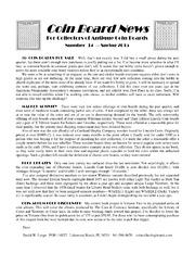 Coin Board News #34