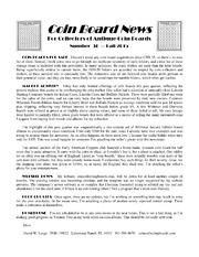 Coin Board News #36