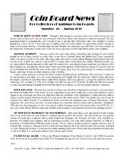 Coin Board News #38