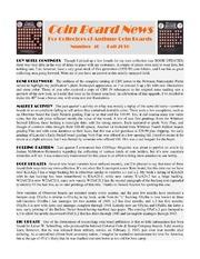 Coin Board News #40
