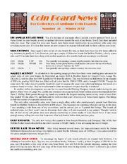 Coin Board News #41