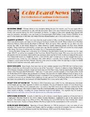 Coin Board News #44