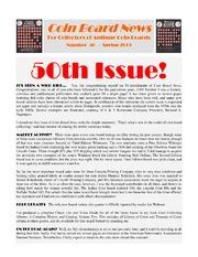 Coin Board News (#50)