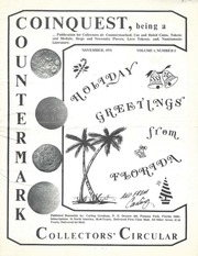 Coinquest, Being a Countermark Collectors' Circular