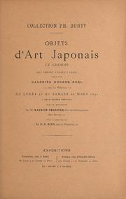 Collections Ph. Burty, Objects d-art Japonais et Chinois que seront vendus a Paris..