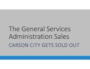 The General Services Administration Sales