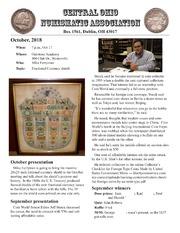 CONA Newsletter (October 2018)