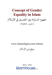 gender equality in islam essay