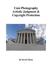 Coin Photography, Artistic Judgment & Copyright Protection