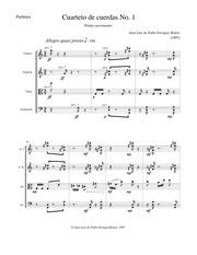 Cuerdas cuarteto partituras de pdf