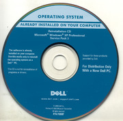 DELL OEM Windows XP SP3 Eng Reinstall CD : Free Download, Borrow