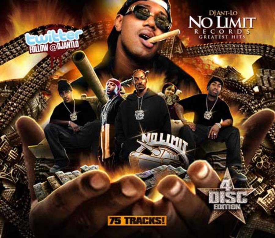 DJ Ant-Lo - No Limit Records Greatest Hits (4CD)-2010 : Free