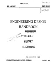 Engineering Design Handbook Ammunition Series