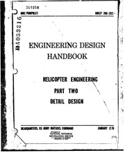 Engineering Design Handbook Helicopter