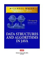 تحميل كتاب data structures and algorithms in java