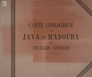Vol atlas (1896): Description géologique de Java et Madoura