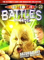 DR WHO BATTLES IN TIME NO.006 The Editor