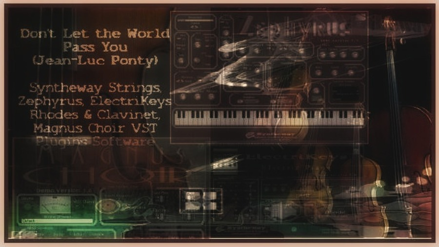 Don't Let The World Pass You By (Jean-Luc Ponty) Syntheway Strings