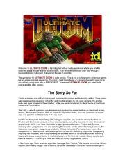 Doom (Ultimate Doom) : Free Download, Borrow, and Streaming