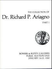 Collection of Dr. Richard P Ariagno, Part 1