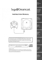 Console Manuals: Sega Dreamcast : Free Texts : Free Download