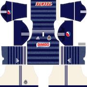 hot sale online 2dfa5 f2d38 dream legue soccer kit chivas tercer 2013 uniforme : Free ...