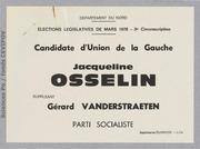 Législatives 1978 (Nord, 3e circonscription): bulletins de vote du 2nd tour