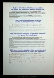 1974-1981 Sept ans au service de la France
