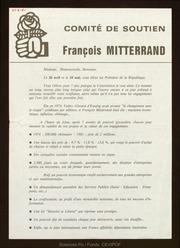 Comité de soutien François Mitterrand