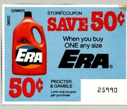 Era detergent coupons