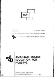 ERIC ED105911: Current Trends in Associate Degree Nursing ...