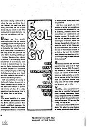 Human Ecology & Evolution?