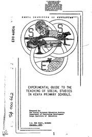 eric ed012200 cue social studies humanities media guide