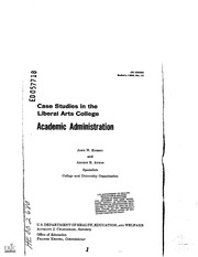 case studies in higher education administration Ctch 622 – organization and administration in higher education spring 2008 tuesdays ss complexities of higher education administration: case studies.