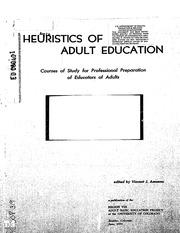 Methods of teaching adult education