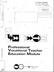 objectives of vocational education pdf