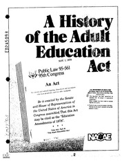 act adult education family literacy