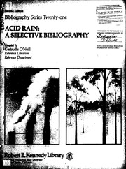 acid rain research information This informative article on acid rain is an excellent resource for your essay or school project.