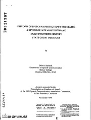 an analysis of sedition act of 1798 In 1798, less than a decade after the passage of the first amendment,  no prior  restraint of speech, an interpretation most americans find to be shocking when   vermont congressman matthew lyon was jailed under the sedition act for.