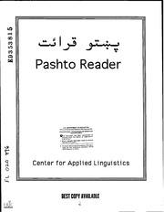 ERIC ED353815: Pashto Reader  : ERIC : Free Download, Borrow, and