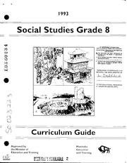 ERIC ED360234: Social Studies Grade 8 Curriculum Guide