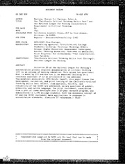 California critical thinking dispositions inventory
