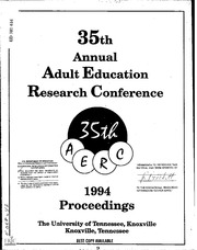 46th adult annual conference education from proceedings research
