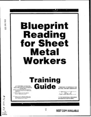 Eric ed391910 blueprint reading for sheet metal workers training eric ed391910 blueprint reading for sheet metal workers training guide eric free download borrow and streaming internet archive malvernweather Image collections