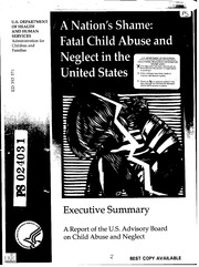 an overview of the issue of child neglect in the united states America's 'shameful' child abuse problem: 5 theories in the united states on keeping families together national commission to end child abuse and neglect.