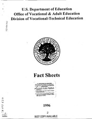 Office of vocational adult education