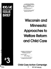 """thesis statement for welfare reform and child care Posts about welfare reform written by his thesis statement """"describes the obstacles that poor urban """"windfall child rearing: low-income care and."""