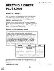 eric ed420233 direct plus loans william d ford federal direct loan. Cars Review. Best American Auto & Cars Review