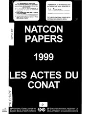 Eric ed446296 the blueprint for lifework designs eric free papers presented at the annual meeting of the national consultation on career development natcon 25th ottawa ontario canada january 25 27 1999 malvernweather Choice Image